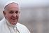 Le pape François (Jorge Mario Bergoglio, né en 1936), lors d'une audience générale hebdomadaire sur la place Saint-Pierre. Vatican, 15 octobre 2014. Photo : Ulmer. © Ulmer / Ullstein Bild / Roger-Viollet