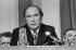 Pierre Elliott Trudeau (1919-2000), Canadian politician. © Jacques Cuinières / Roger-Viollet
