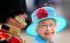 """La reine Elisabeth II (née en 1926), et son époux le prince Philip d'Edimbourg (né en 1921), lors de la cérémonie """"Trooping the Colour"""" (Salut aux couleurs), parade militaire annuelle célébrant l'anniversaire officiel du souverain britannique. Londres (Angleterre), 13 juin 2009. © TopFoto/Roger-Viollet"""