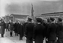 Accords de Munich. Retour d'Edouard Daladier. Le Bourget, 30 septembre 1938. © LAPI / Roger-Viollet