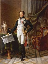 Jean-Baptiste Wicar (1762-1834). Joseph Bonaparte (José I, 1768-1844), King of Spain. Oil on canvas, 1808. Versailles Museum. © Roger-Viollet