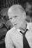 Robert Pinget (1919-1997), écrivain français d'origine suisse. Avignon (Vaucluse), juillet 1987. © Colette Masson / Roger-Viollet