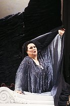 October 6, 2018 : Death of Montserrat Caballé (1933-2018), Spanish soprano © Colette Masson / Roger-Viollet