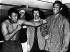 Mohamed Ali (anciennement Cassius Marcellus Clay, 1942-2016) et George Foreman (né en 1949), boxeurs américains, 28 mars 1973. © Ullstein Bild / Roger-Viollet