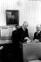 The president De Gaulle voting in Colombey-les Deux Eglises for the referendum of the 27th April 1969. © Roger-Viollet