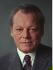 Willy Brandt (1913-1992), homme politique allemand (SPD), chancelier de 1969 à 1974. 21 mai 1971. © Ullstein Bild / Roger-Viollet
