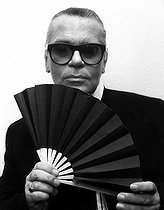February 19, 2019 : Death of Karl Lagerfeld (1933-2019), German-born fashion designer © Ullstein Bild / Roger-Viollet