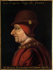 Louis XI (1423-1483), roi de France. Peinture du XVIIème siècle d'après un original perdu provenant de la Chartreuse du Liget. Château de Plessis-les-Tours (Touraine).  © Roger-Viollet