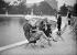 Pond of the Tuileries park. Paris (Ist arrondissement), circa 1925. © Maurice-Louis Branger/Roger-Viollet