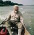 Konrad Lorenz (1903-1989), biologiste et zoologiste autrichien, prix Nobel de médecine 1973. 1970. © Ullstein Bild / Roger-Viollet