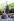 Hiroshima, monument en mémoire des victimes de la bombe atomique. Derrière le monument : une classe de jeunes japonais. 1979. © Ullstein Bild/Roger-Viollet