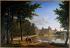 """Alexandre Millin du Perreux (1764-1843). """"Henri IV relevant Sully à Fontainebleau"""". Musée National du Château de Fontainebleau. © Roger-Viollet"""