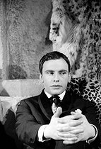 Jean-Louis Trintignant (born in 1930), French actor and director. © Roger-Viollet