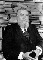 Jean Jaurès (1859-1914), French politician and writer, July 1914. © Albert Harlingue/Roger-Viollet