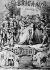 """The bandits"" by Giuseppe Verdi (1813-1901), Italian composer (score cover). © Albert Harlingue / Roger-Viollet"