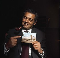 Pierre Sabbagh, French journalist, host of television. France, circa 1970. RVB-12175 © Roger-Viollet