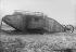World War One. British tank. 1917. © Jacques Boyer/Roger-Viollet