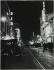 Night view of the rue de la Gaîté. The Théâtre Bobino and the Gaité Montparnasse. Paris, before 1938. Photograph by Jean Roubier (1896-1981). Bibliothèque historique de la Ville de Paris. © Jean Roubier / BHVP / Roger-Viollet