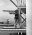Piscine. Monte-Carlo (Principauté de Monaco), 1932.  © Boris Lipnitzki/Roger-Viollet