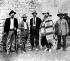Révolution mexicaine. Général Pascual Orozco, Francisco Madero, Jose Garibaldi, Raoul Madero et Francisco Goryales. Mouvement révolutionnaire mexicain. 1911. © TopFoto/Roger-Viollet