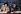 L'abbé Pierre (Henri Grouès, 1912-2007) et  Bernard Tapie (né en 1943), homme politique et homme d'affaires français, lors d'un débat organisé par Europe 1. Paris, 1984. © Roger-Viollet