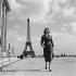 Nicky Voillard (born en 1929), French actress. Paris (VIIth arrondissement), circa 1955. © Gaston Paris / Roger-Viollet