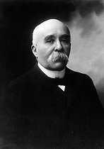 Georges Clemenceau (1841-1929), French statesman, 1906. © Maurice-Louis Branger / Roger-Viollet