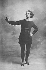 """Giselle"" (Ier acte). Ballets russes de Diaghilev. Vaslav Nijinski. Paris, 1910. Photographie Roosen.  © Roger-Viollet"