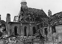 World War II. Front of Normandy, June 1944. Ruins of Falaise (Calvados). © LAPI/Roger-Viollet