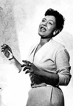 Billie Holiday (1915-1959), chanteuse de jazz américaine. © TopFoto / Roger-Viollet