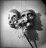 Masques.     BUR-1096 © Tony Burnand / Roger-Viollet