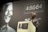 Nelson Mandela (1918-2013), ancien président sud-africain, lors d'une conférence de presse pour la lutte contre le sida. Angleterre, 21 octobre 2003. © TopFoto / Roger-Viollet
