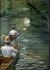 Gustave Caillebotte (1848-1894). The périssoires (long canoes). Oil on canvas, 1878. Rennes (France), Musée des Beaux-Arts (Museum of Fine Arts). © Roger-Viollet