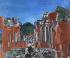"""Raoul Dufy (1877-1953). """"Paysage de Sicile, Taormine"""". Huile sur toile, 1923. Paris, musée d''Art moderne. © Musée d'Art Moderne/Roger-Viollet"""