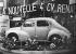 4 CV Renault présentée pour la première fois au Salon de l'Auto. Paris, 1946.  © Roger-Viollet