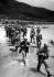 Guerre de Corée (1950-1953). Troupes de l'armée américaine sur le front, 9 août 1950. © TopFoto / Roger-Viollet