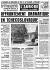 """""""Affrontements dramatiques en Tchécoslovaquie"""". Article sur l'invasion par les Soviétiques. """"L'Aurore"""" du 23 août 1968. © Roger-Viollet"""