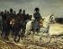 """Jean-Louis Ernest Meissonier (1815-1891). """"Napoléon Ier et son armée pendant la campagne de France, 1814"""". Huile sur toile (détail), 1864. Paris, musée d'Orsay. © Iberfoto / Roger-Viollet"""