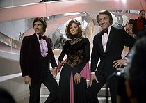 Sacha Distel, Claudia Cardinale and Jean-Pierre Cassel. © Roger-Viollet