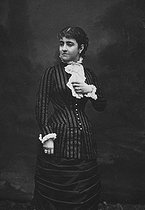 Adelina Patti (1843-1919), cantatrice italienne. © Roger-Viollet