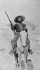 Mexican revolution, 1910-1920. Mexican rider. © Albert Harlingue / Roger-Viollet