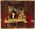 """Jean Béraud (1849-1936). """"Au café, l'absinthe"""". Huile sur toile. Paris, musée Carnavalet.    © Musée Carnavalet / Roger-Viollet"""