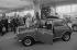 """Presentation of the Austin """"Mini"""" at the Paris Car Show, 1978. © Jacques Cuinières / Roger-Viollet"""