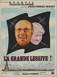 """René Ferracci (1927-1982). """"La grande lessive (!)"""", Jean-Pierre Mocky (1929-2019). Affiche illustrée. 1968. Bibliothèque historique de la Ville de Paris. © BHVP / Roger-Viollet"""