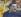 """Paul Gauguin (1848-1903). """"Portrait de l'artiste au Christ jaune"""", 1889-1890. Paris, Musée d'Orsay. © Roger-Viollet"""