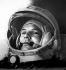 Iouri Gagarine (1934-1968), premier cosmonaute soviétique. 12 avril 1961. © Roger-Viollet