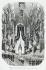 """Hubert Clerget (1818-1899). """"Intérieur de Notre-Dame pendant la cérémonie du 1er janvier 1852"""". Estampe. Paris, musée Carnavalet. © Musée Carnavalet / Roger-Viollet"""