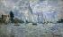 """Claude Monet (1840-1926). """"Les barques. Régates à Argenteuil"""". Huile sur toile, vers 1874. Paris, musée d'Orsay.  © Iberfoto / Roger-Viollet"""