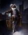 "Coquelin the Elder (Constant Coquelin) in ""Cyrano de Bergerac"" by Edmond Rostand (1868-1918), by Guth.     © Roger-Viollet"