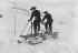 Lieutenant de Labesse's pedal sled. France, 1908. © Maurice-Louis Branger/Roger-Viollet